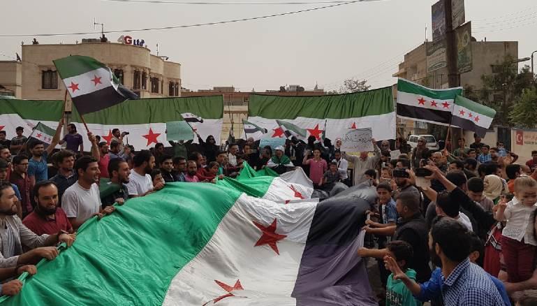 """الشمال السوري:جمعة التظاهر تحت شعار""""نسقط الاسد لنبني البلد"""""""