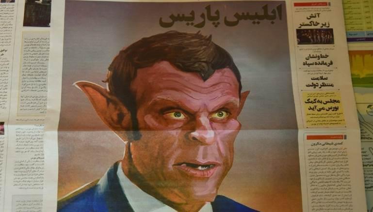 """""""إبليس باريس"""" يهدد علاقة إيران بفرنسا.. فماذا عن لبنان؟"""