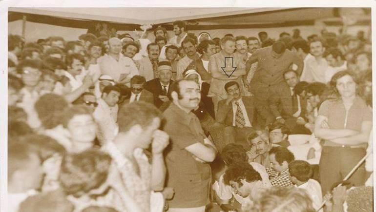خالد عبد الناصر مشاركا في تدشين تمثال والده في البقاع (من ارشيف زياد الحمصي)
