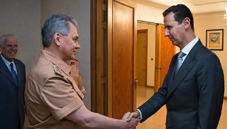 وزير الدفاع الروسي يفاجىء الأسد
