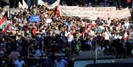 خريف 17 تشرين: نهاية عامها الأول بتظاهرات باهتة