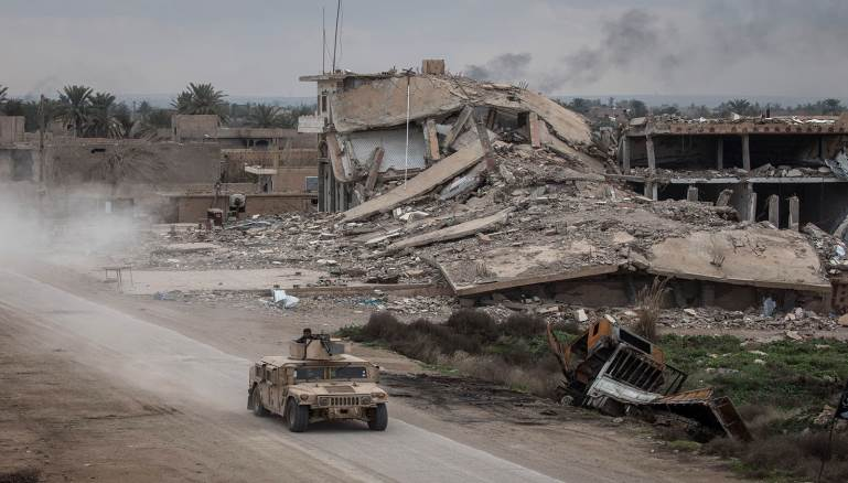 """""""داعش"""" في ديرالزور الشرقي: """"نراكم ولا ترونا""""!"""