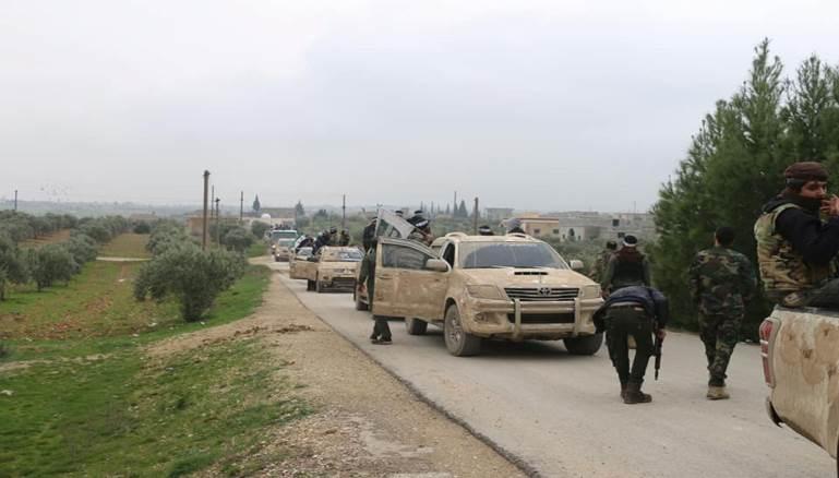"""عناصر """"الزنكي"""" سابقاً يتأهبون للمواجهة في ريف حلب الغربي"""
