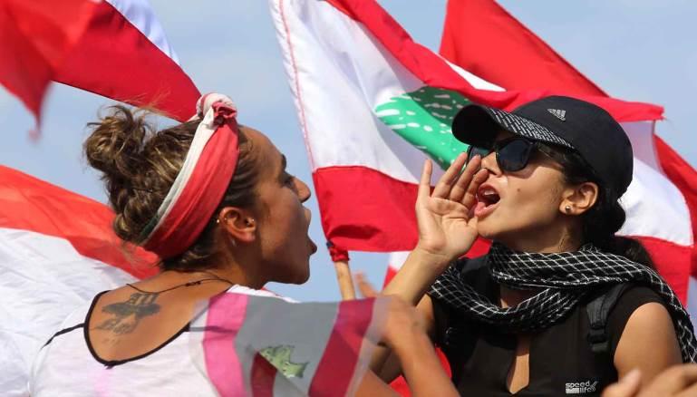 تظاهرة صوْر: أيقونة الانتفاضة اللبنانية
