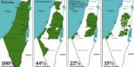 """""""غوغل"""" يغيّر مساحة فلسطين"""
