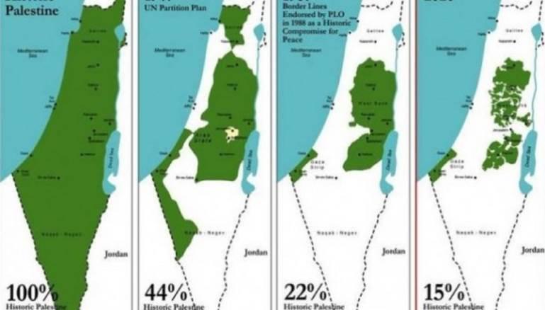 المدن غوغل يغي ر مساحة فلسطين