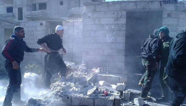 دروز سوريا يواجهون الفرقة الرابعة بجرمانا..ويزيلون حاجزاً للجيش بالسويداء