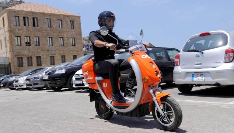 جديد بيروت: e-scooters لإختراق أزمة السير