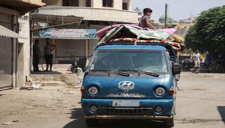 المدن كم لوحة مرورية تحتاجها سيارتك في الشمال السوري
