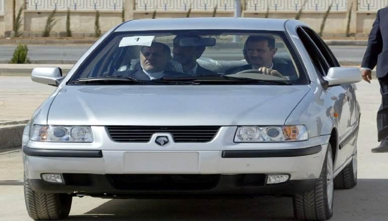 المدن سيارة شام معاودة الإنتاج لخدمة إيران