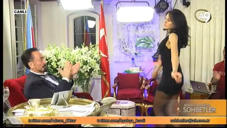 Image result for اعتقال داعية تلفزيوني تركي اشتهر بظهوره مع راقصات في ملابس فاضحة
