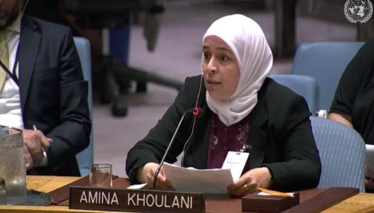 """المدن - السورية آمنة خولاني تنال """"الجائزة الدولية للمرأة الشجاعة"""""""