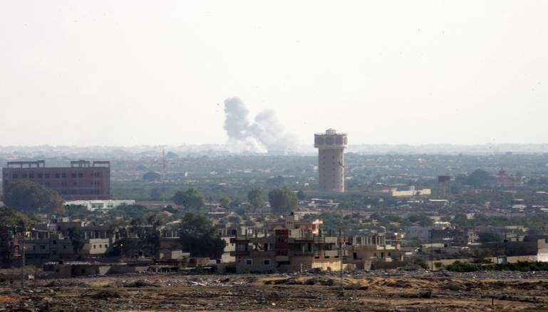 الحلف السري:إسرائيل تشن غارات على سيناء بموافقة السيسي