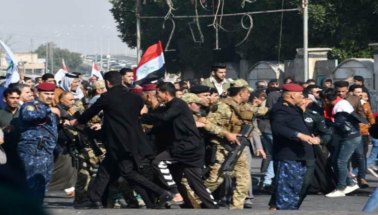 تظاهرات في العراق: لا للاحتلالين الأميركي والإيراني