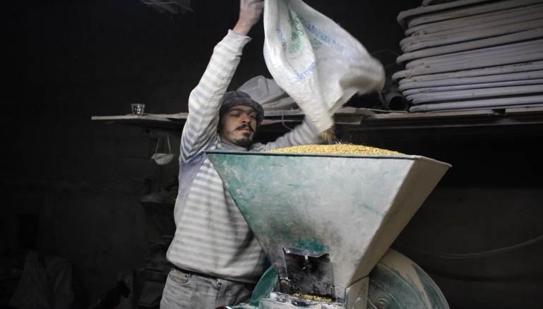 القمح السوري:عنوان للصراع