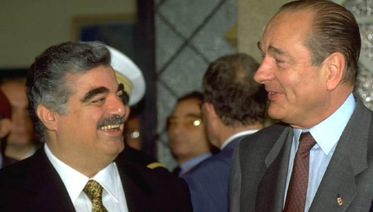 Image result for رفيق الحريري وشيراك