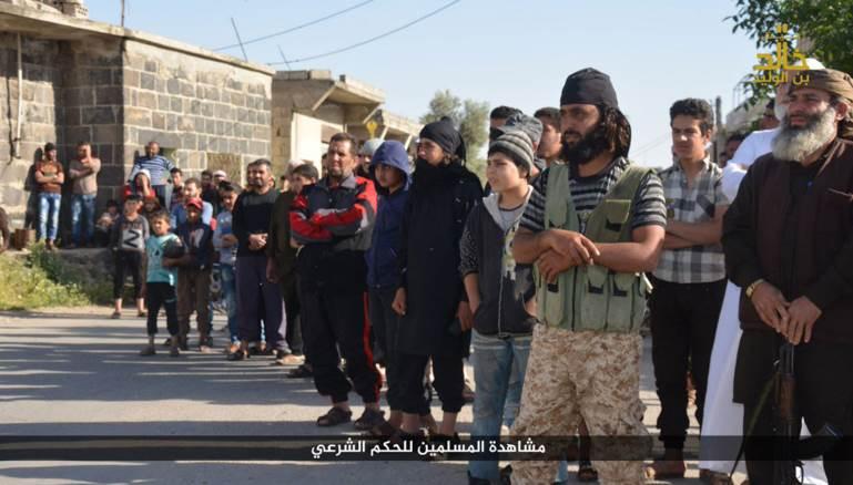 """لمحة عن""""جيش خالد بن الوليد"""" التابع للدولة الإسلامية في جنوب غربي سوريا 438"""